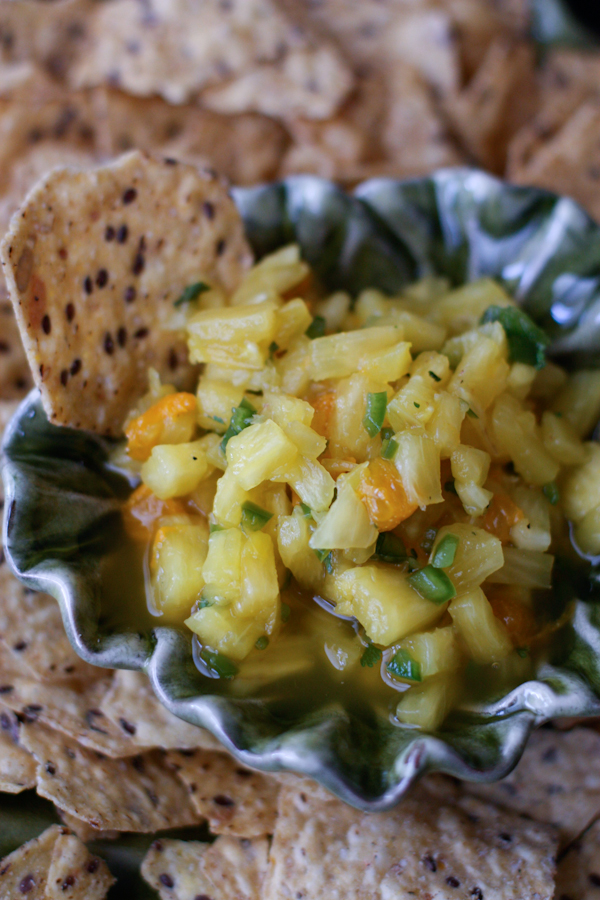 41 Fantastic Fruit Salsa Recipes - like this recipe for Heidi's Pineapple Salsa from @aggieskitchen
