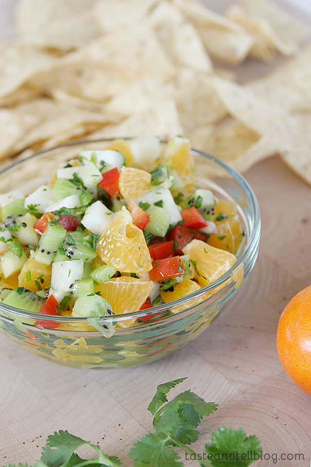 kiwi-and-tangerine-salsa-taste-and-tell