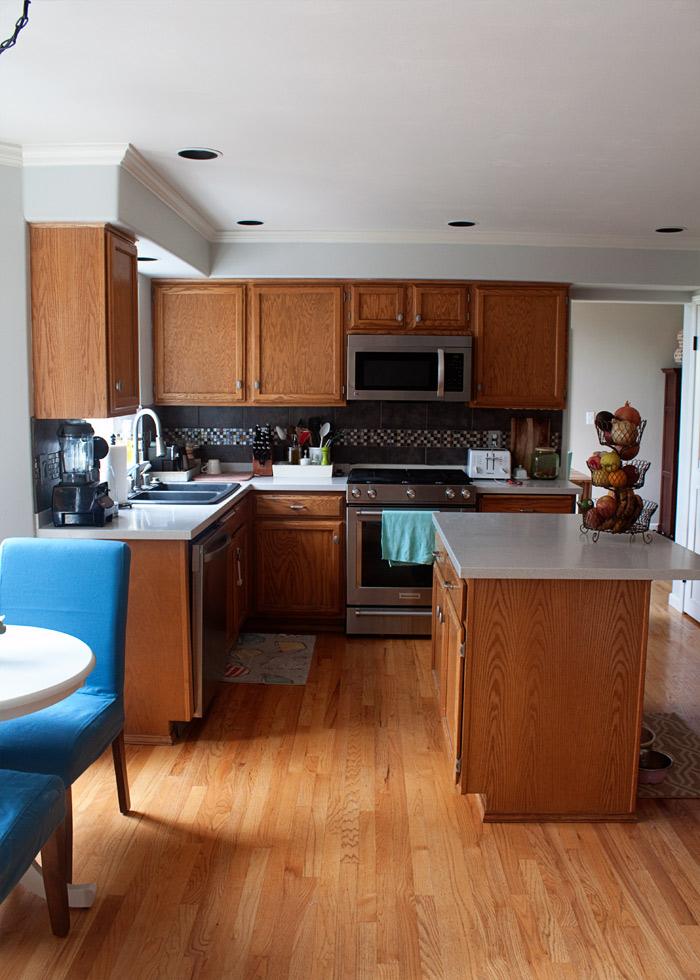 Kitchen Treaty kitchen - currently