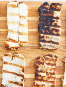 How to Grill Halloumi Cheese