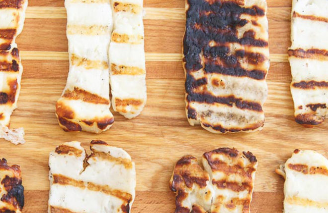 how to grill halloumi cheese kitchen treaty