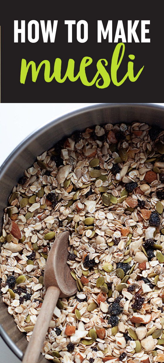 How to make muesli kitchen treaty how to make muesli my favorite simple breakfast cool hearty and nourishing ccuart Gallery