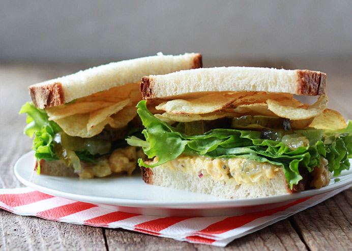 Chickpea-Salad-Sandwiches