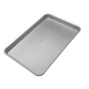 USA Bakeware Aluminized Steel Baking Pan, Half Sheet
