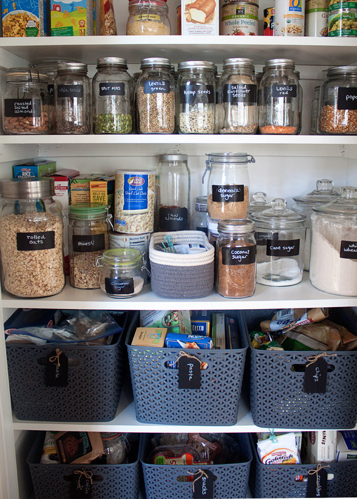 How We Organized Our Small Kitchen Pantry This Tiny Was Whipped Into Shape With