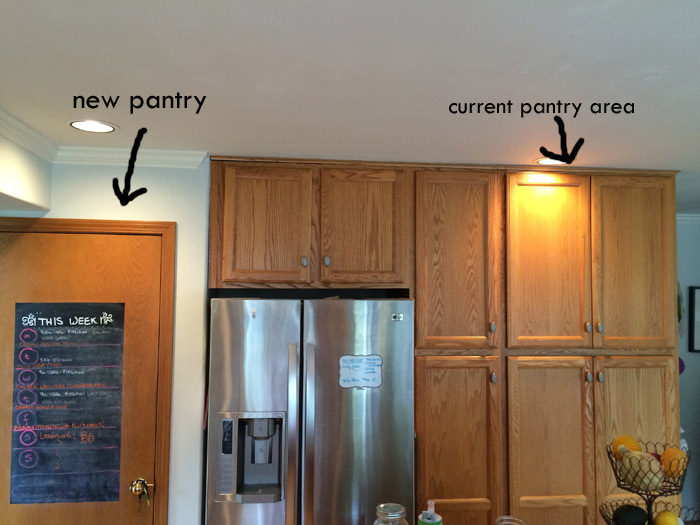 How We Organized Our Small Kitchen Pantry