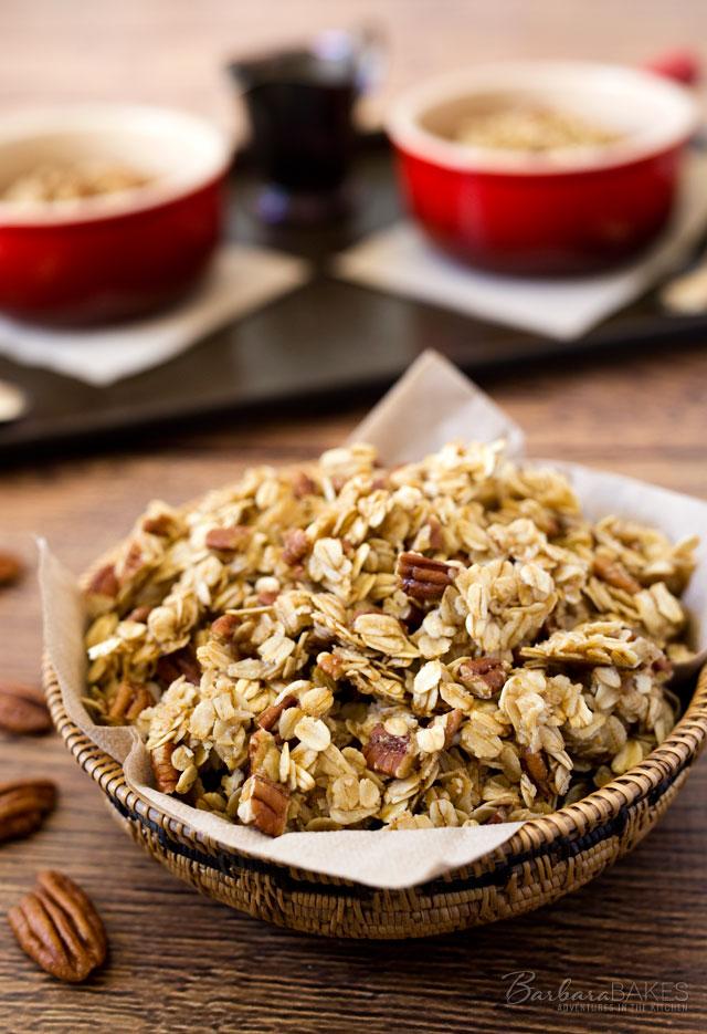 Pecan-Pie-Granola-Barbara-Bakes