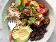 Cauliflower Rice Black Bean Burrito Bowl recipe