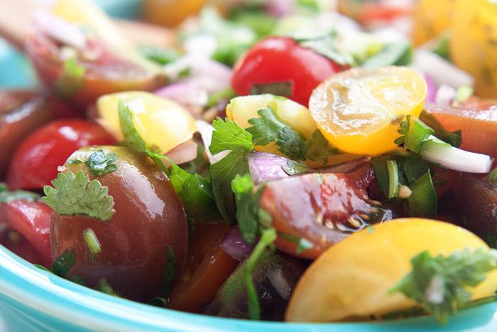 Cherry Tomato Pico de Gallo recipe