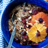 Orange Cranberry Steel-Cut Oatmeal recipe