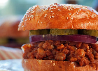 Slow Cooker BBQ Chickpea Sloppy Joes recipe
