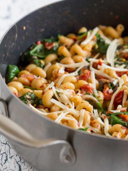 One-Pot Pasta Florentine recipe