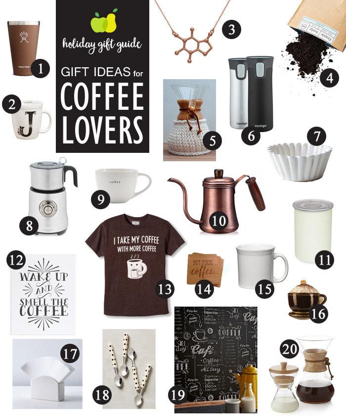 Gift ideas for coffee lovers kitchen treaty Gifts for kitchen lovers