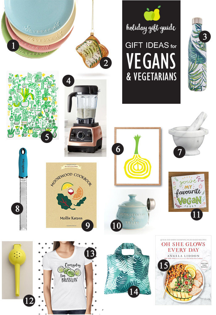 Gift Ideas for Vegans & Vegetarians