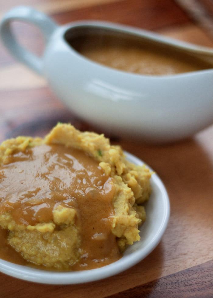 Indian-Spiced Vegan Brown Gravy recipe