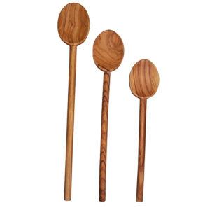 olivewood-spoon-set