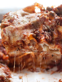 The Best Vegetarian Lasagna Recipe Ever