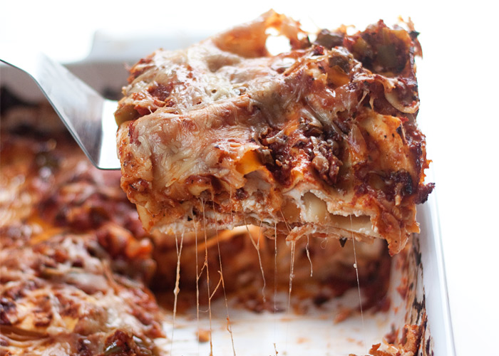 The Best Vegetarian Lasagna Recipe Ever Kitchen Treaty Recipes
