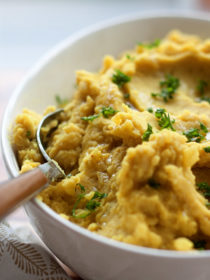 Turmeric Mashed Potatoes recipe