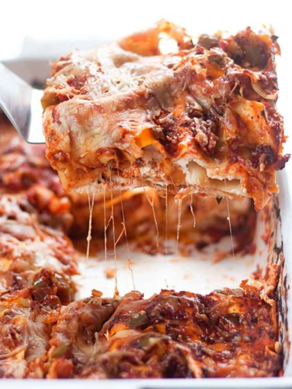The Best Vegetarian Lasagna Recipe Ever Kitchen Treaty Recipes
