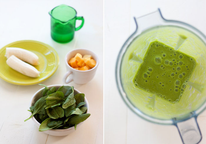 4-Ingredient Super Drinkable Green Smoothie recipe! Do green smoothies scare you? Have you had too many bad-tasting, off-putting, strange ones? Well, this one is the most drinkable I've found – sweet, refreshing, hydrating, and supremely drinkable. Plus it boasts super-short list of ingredients. Win!