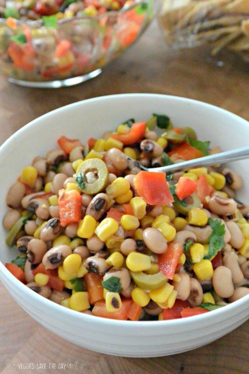 Black-Eyed-Pea Good Luck Salad