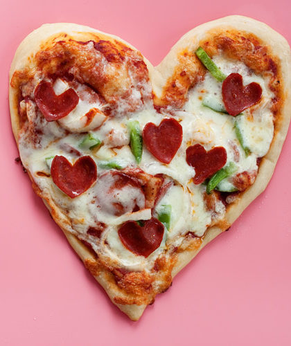 How To Make Heart Shaped Pizzas Kitchen Treaty Recipes