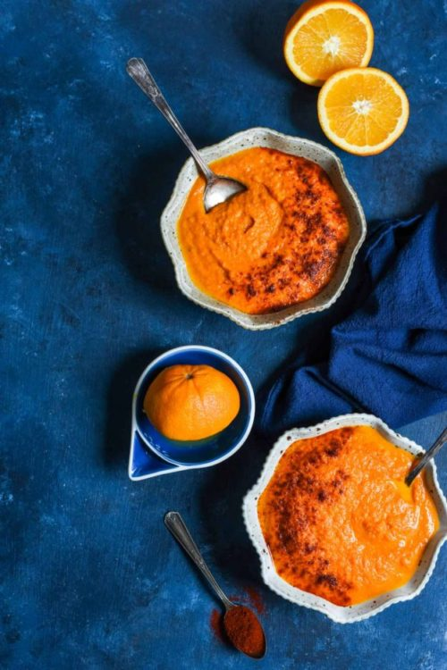 9 Creative Carrot Soup Recipes! // Here, we have Creamy Carrot Orange Soup from @neighborfood. Zingy orange and smoky chipotle amp up your everyday carrot soup.