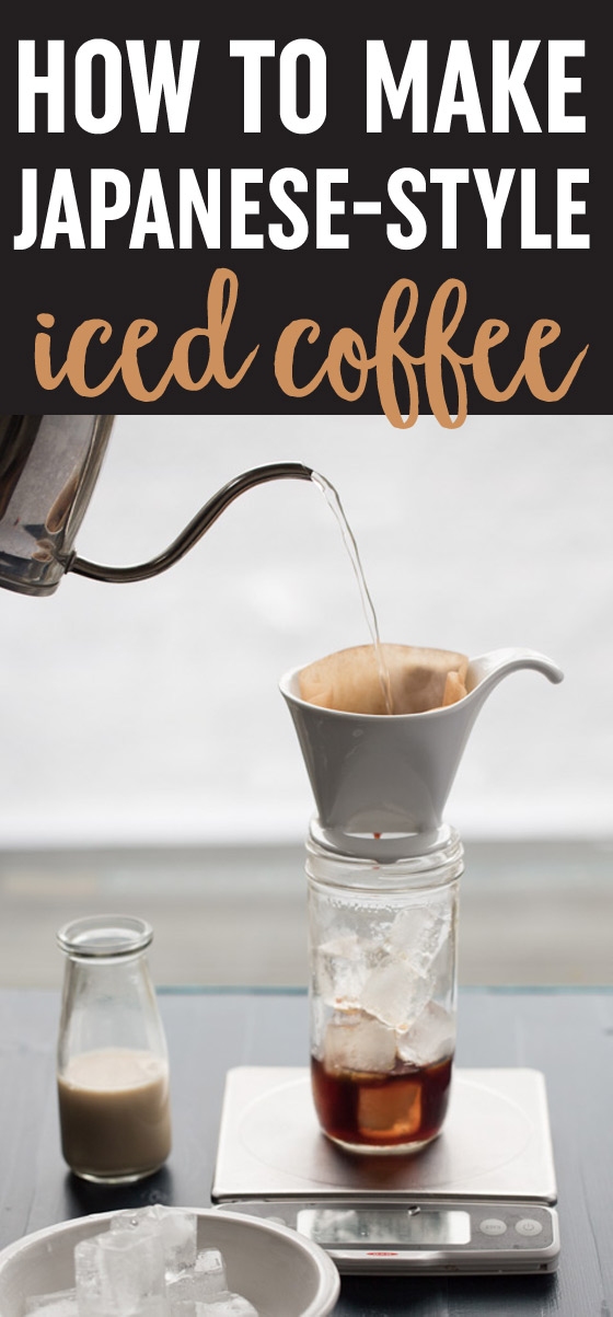 How to Make Japanese-Style Iced Coffee - A much faster alternative to cold brew, this method gives you high-quality iced coffee in minutes. It's even simpler and faster when you use a cone drip brewer and a mason jar!