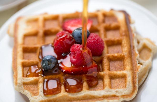 light crispy vegan waffles kitchen treaty