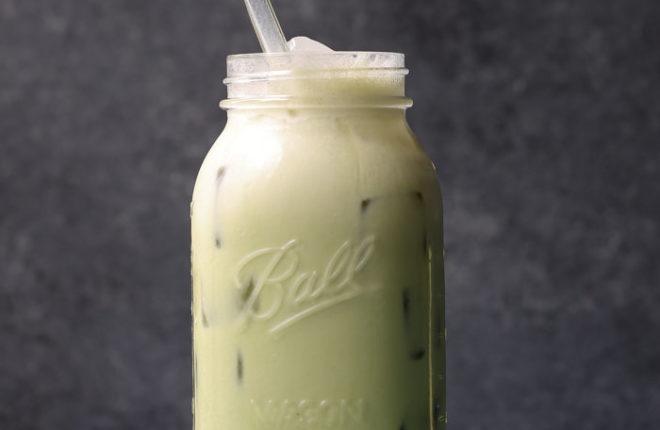 Shaken Iced Matcha Latte