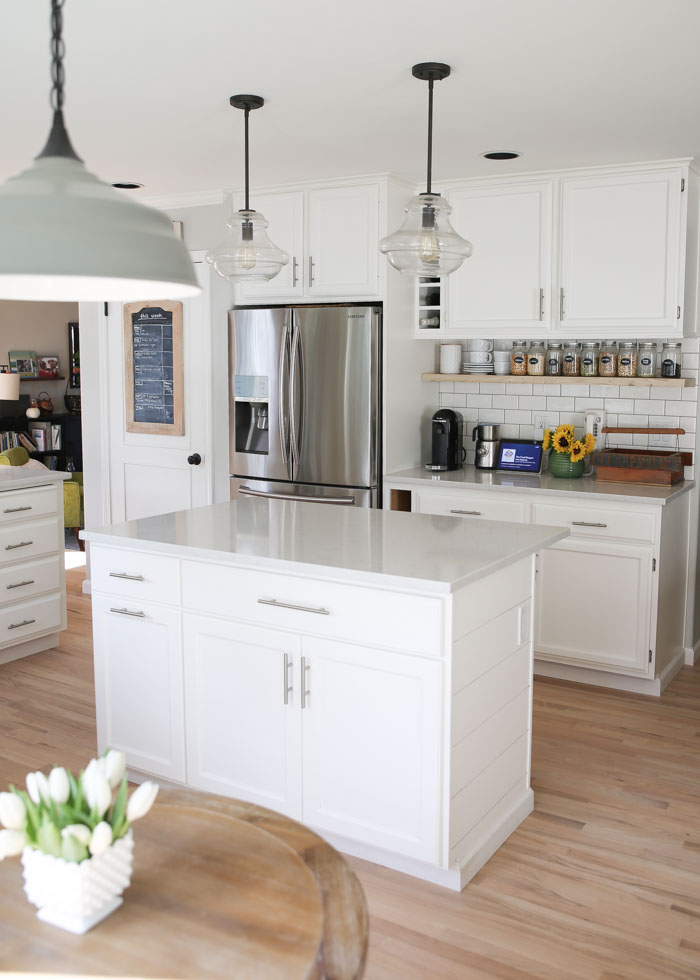 Choosing White Kitchen Countertops Marble Granite Or
