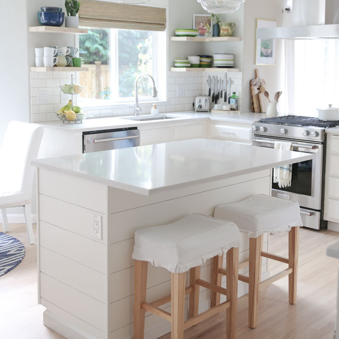 Our Semi Budget Friendly White Kitchen Remodel Kitchen Treaty Recipes