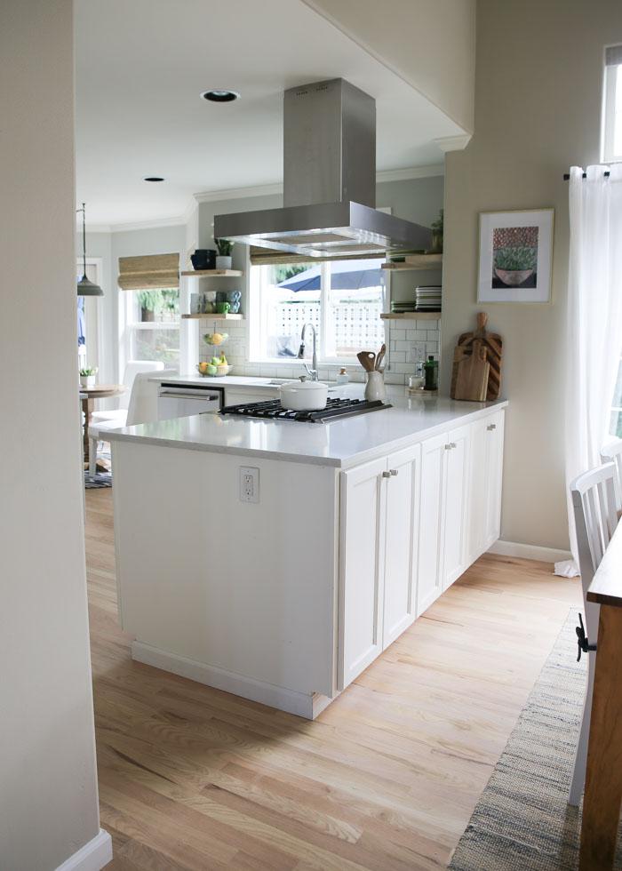 Our (Semi) Budget-Friendly White Kitchen Remodel - Kitchen ...