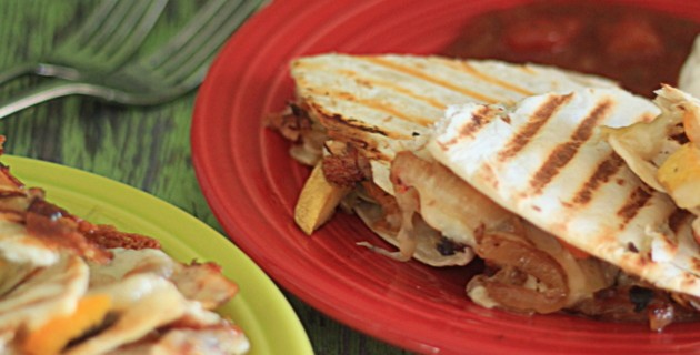 Quick & Easy Dinner: Quesadillas