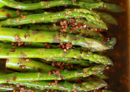 Balsamic Marinated Asparagus