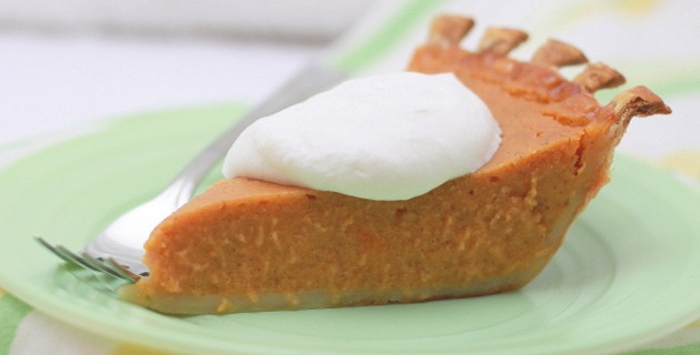 Vanilla Bourbon Sweet Potato Pie