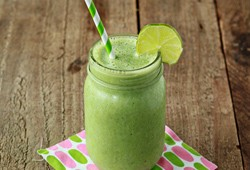 Vanilla Lime Green Smoothie